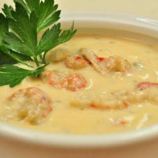 Louisiana Corn & Crab Bisque.