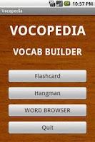 Screenshot of Vocopedia lite
