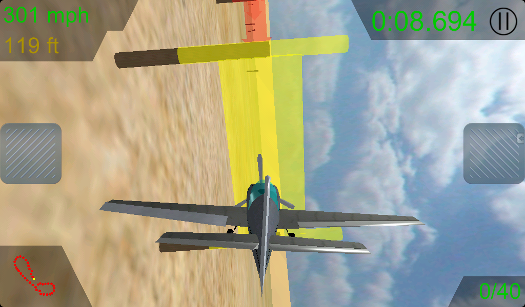 Race Pilot 3D- screenshot