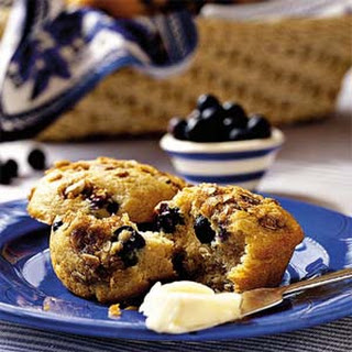Blueberry-Cinnamon Muffins