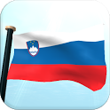 Slovenia Flag 3D Free icon