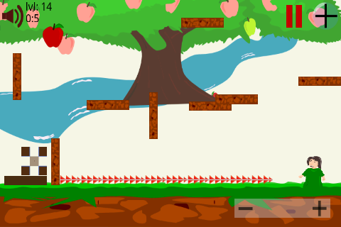Pick the Apple - Block Physics - screenshot