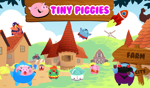Tiny Piggies Bad Owls《小小猪》