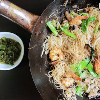 Fried Bee Hoon (Singapore Noodles).