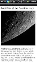 Screenshot of News from NASA Free