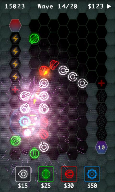 HexDefense Free- screenshot