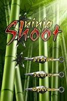 Screenshot of Ninja Shoot