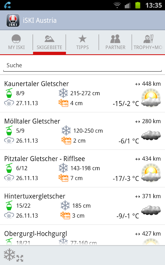 iSKI Austria - screenshot