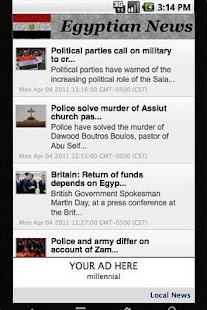 Egypt News - screenshot thumbnail