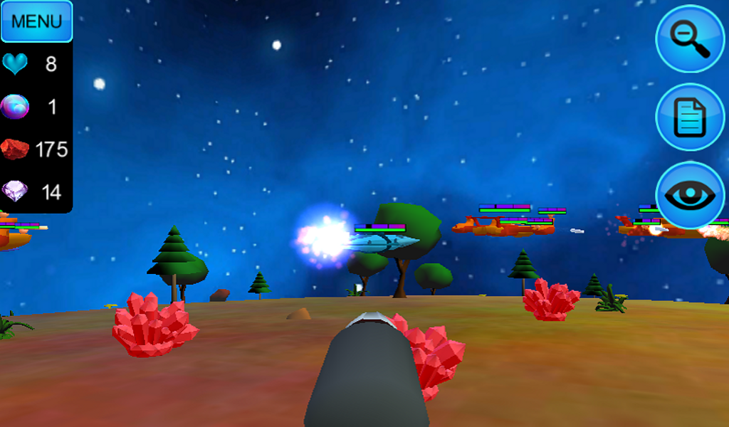 Hostile Tower Defense 3D- screenshot