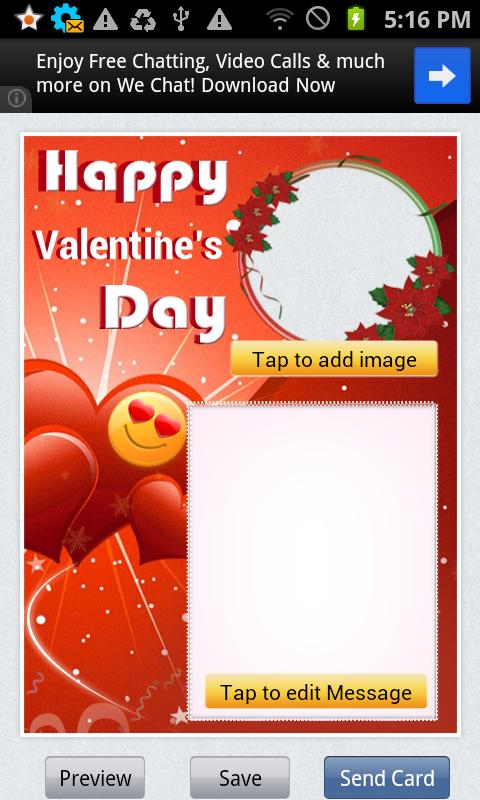 Love and Valentine Cards - screenshot