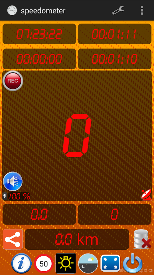Ταχύμετρο - speedometer - screenshot
