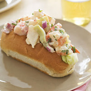 Shrimp-and-Ham Rolls