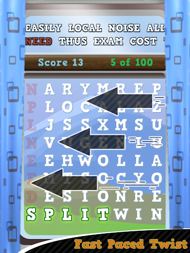 Word Search Railway Express
