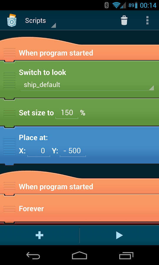 Pocket Code: Learn programming- screenshot