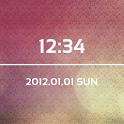 LiveWallpaper Red Clock