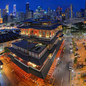 Buddha Tooth Relic Temple and Museum by Kafoor Sammil - Buildings & Architecture Places of Worship ( buddha tooth relic temple )