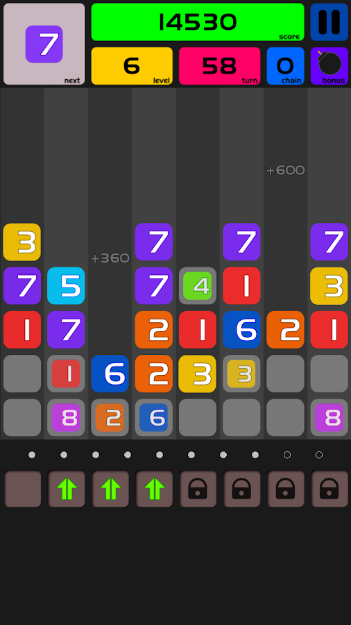 Numerous - Number Puzzle - screenshot
