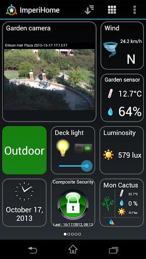 ImperiHome u2013 Smart Home & Smart City Management 4.0.5 screenshots 1
