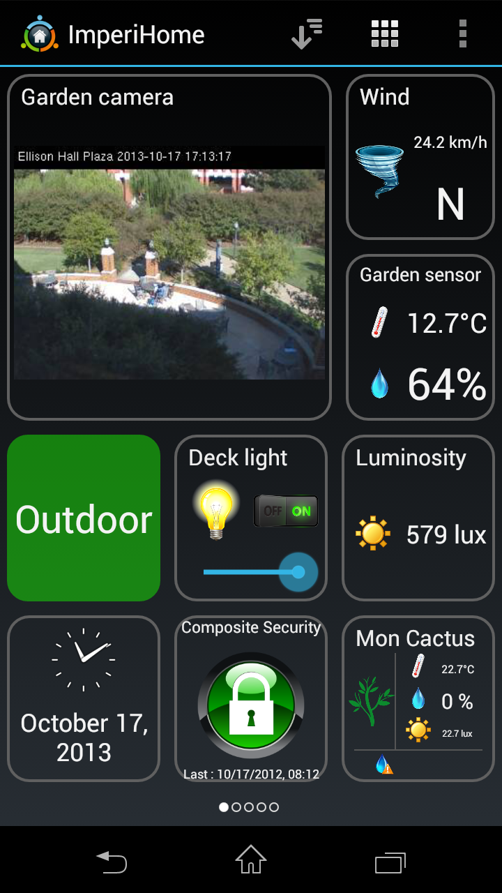 ImperiHome \342\200\223 Smart Home & Smart City Management Screenshot