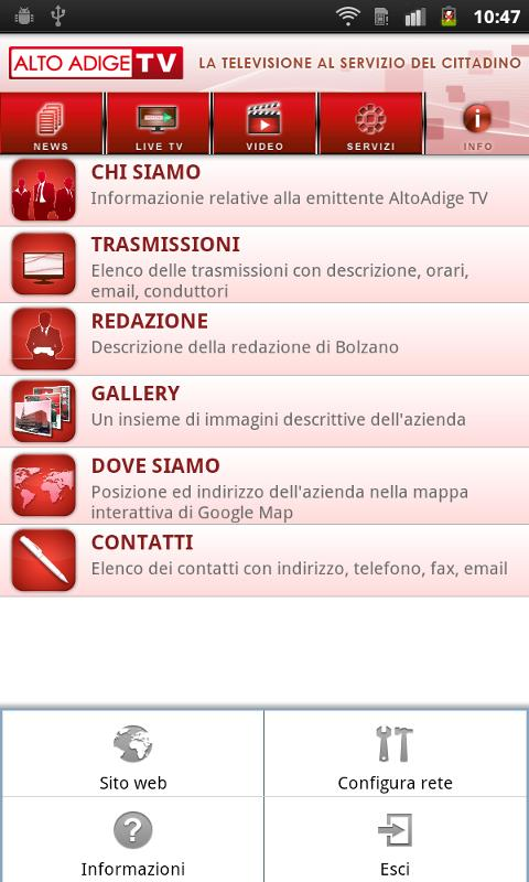 AltoAdige TV- screenshot