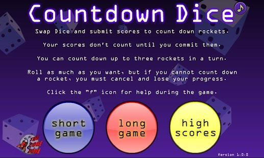 Countdown Dice- screenshot thumbnail