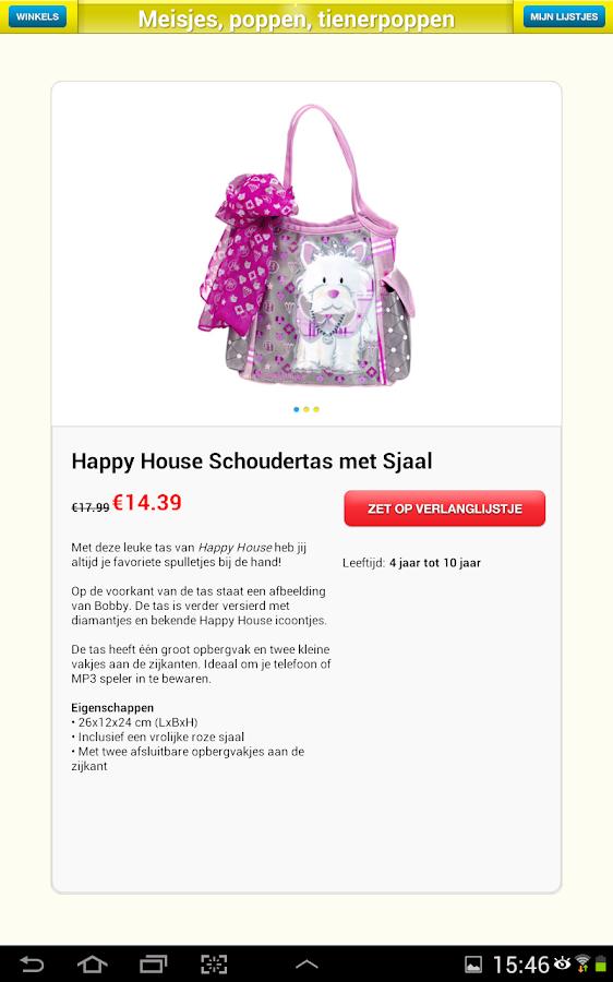 Intertoys Speelgoed App - screenshot