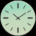 Black S3 Analog Clock icon