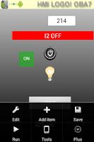Screenshot of HMI LOGO! OBA7  OBA8 & S7-1200