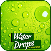 Water Drop Live Wallpaper 3D