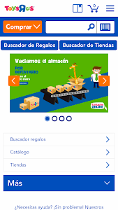 "Toys""R""Us España screenshot 0"