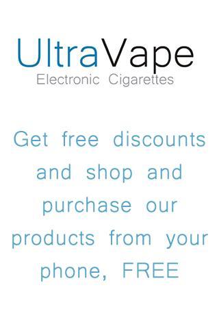 UltraVape Electronic Cigarette