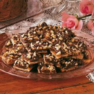 Soda Cracker Chocolate Candy