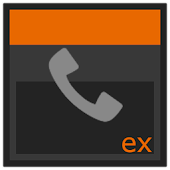 ExDialer theme KitKat inverted