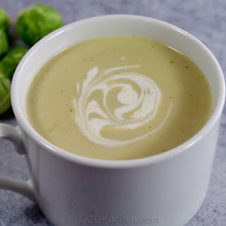 Cream of Brussels Sprout Soup.