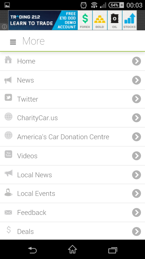Donate Your Car- screenshot