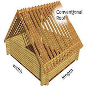 Conventional Roof Calculator