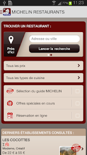 MICHELIN Restaurants - screenshot thumbnail