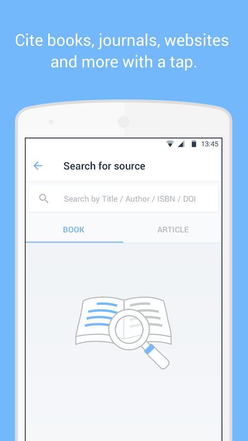 RefME - Citations Made Easy - screenshot