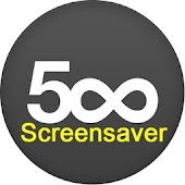 500px Screensaver