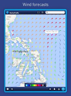 MarineTraffic ship positions - screenshot thumbnail