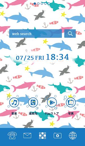 可愛換裝桌布★Cute aquarium