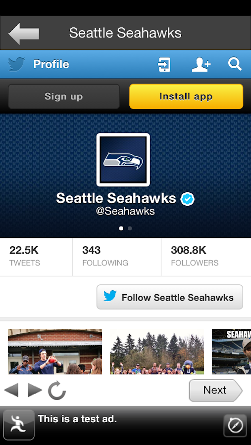 Sea Seahawks FanSide - screenshot