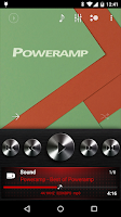 Screenshot of Poweramp skin Dark Metallic