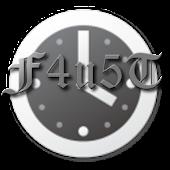 F4u5T Clock Widget
