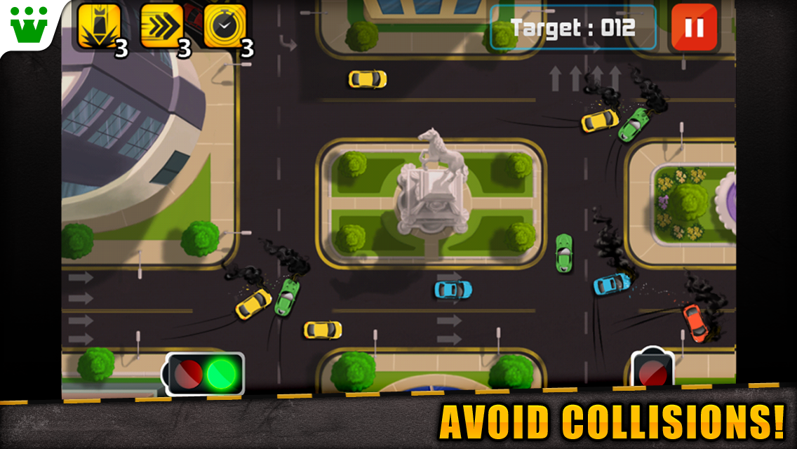 Traffic Frenzy- screenshot