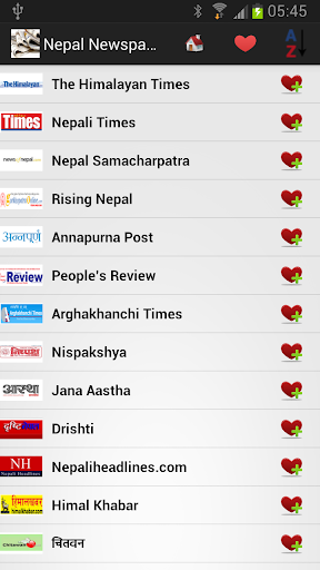 尼泊尔报纸和新闻