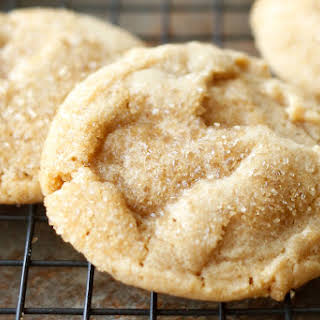 Crispy, Chewy, Peanut Butter Cookies {traditional and gluten free recipes included}.