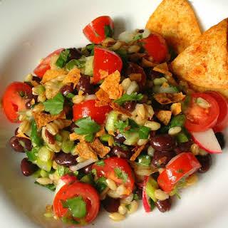 Black Bean and Barley Salad.