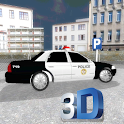 Police Car Park Challenge 3D icon
